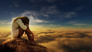 above-the-clouds-alone-beautiful-clouds-girl-harmony-peaceful-sky-thinking
